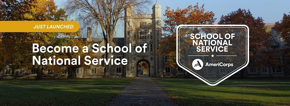 Become a School of National Service